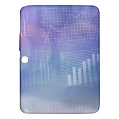 Business Background Blue Corporate Samsung Galaxy Tab 3 (10 1 ) P5200 Hardshell Case  by Nexatart