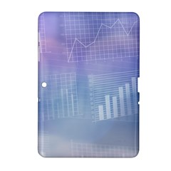 Business Background Blue Corporate Samsung Galaxy Tab 2 (10 1 ) P5100 Hardshell Case
