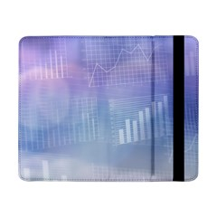 Business Background Blue Corporate Samsung Galaxy Tab Pro 8 4  Flip Case by Nexatart