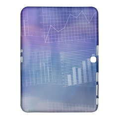 Business Background Blue Corporate Samsung Galaxy Tab 4 (10 1 ) Hardshell Case  by Nexatart