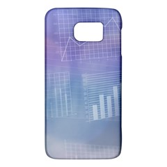 Business Background Blue Corporate Galaxy S6 by Nexatart