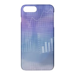 Business Background Blue Corporate Apple Iphone 7 Plus Hardshell Case by Nexatart