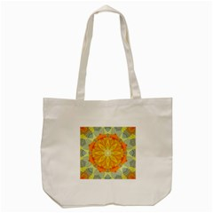 Sunshine Sunny Sun Abstract Yellow Tote Bag (cream)