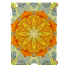 Sunshine Sunny Sun Abstract Yellow Apple Ipad 3/4 Hardshell Case (compatible With Smart Cover) by Nexatart