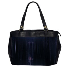 Abstract Dark Stylish Background Office Handbags (2 Sides)