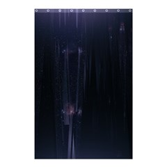 Abstract Dark Stylish Background Shower Curtain 48  X 72  (small)  by Nexatart