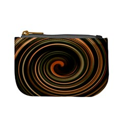 Strudel Spiral Eddy Background Mini Coin Purses by Nexatart