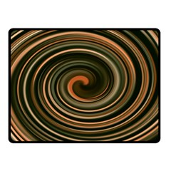 Strudel Spiral Eddy Background Double Sided Fleece Blanket (small)