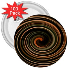 Strudel Spiral Eddy Background 3  Buttons (100 Pack)  by Nexatart