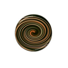 Strudel Spiral Eddy Background Hat Clip Ball Marker (10 Pack)