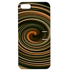 Strudel Spiral Eddy Background Apple Iphone 5 Hardshell Case With Stand by Nexatart