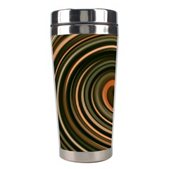 Strudel Spiral Eddy Background Stainless Steel Travel Tumblers by Nexatart
