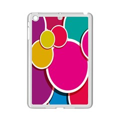 Paint Circle Red Pink Yellow Blue Green Polka Ipad Mini 2 Enamel Coated Cases by Mariart
