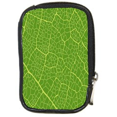 Green Leaf Line Compact Camera Cases