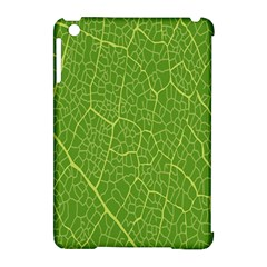 Green Leaf Line Apple Ipad Mini Hardshell Case (compatible With Smart Cover) by Mariart