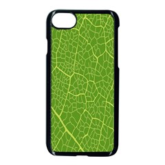 Green Leaf Line Apple Iphone 7 Seamless Case (black)