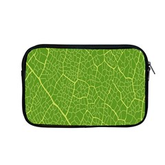 Green Leaf Line Apple Macbook Pro 13  Zipper Case by Mariart