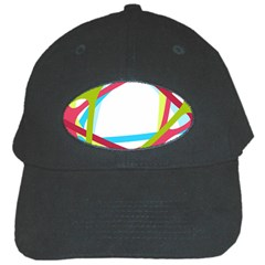 Nets Network Green Red Blue Line Black Cap by Mariart