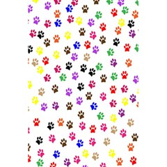 Paw Prints Dog Cat Color Rainbow Animals 5 5  X 8 5  Notebooks by Mariart
