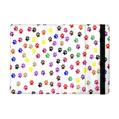 Paw Prints Dog Cat Color Rainbow Animals Ipad Mini 2 Flip Cases by Mariart
