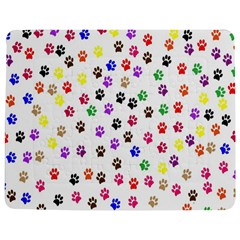 Paw Prints Dog Cat Color Rainbow Animals Jigsaw Puzzle Photo Stand (rectangular) by Mariart