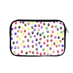 Paw Prints Dog Cat Color Rainbow Animals Apple Macbook Pro 13  Zipper Case by Mariart