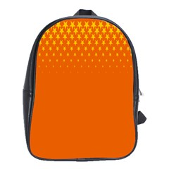 Orange Star Space School Bags(large)