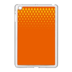 Orange Star Space Apple Ipad Mini Case (white) by Mariart