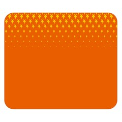 Orange Star Space Double Sided Flano Blanket (small)  by Mariart