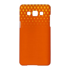 Orange Star Space Samsung Galaxy A5 Hardshell Case  by Mariart