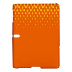 Orange Star Space Samsung Galaxy Tab S (10 5 ) Hardshell Case  by Mariart