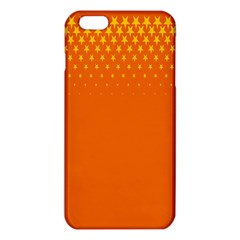 Orange Star Space Iphone 6 Plus/6s Plus Tpu Case by Mariart