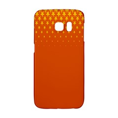 Orange Star Space Galaxy S6 Edge by Mariart