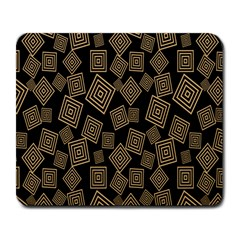 Magic Sleight Plaid Large Mousepads by Mariart