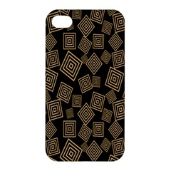 Magic Sleight Plaid Apple Iphone 4/4s Premium Hardshell Case by Mariart