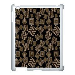 Magic Sleight Plaid Apple Ipad 3/4 Case (white) by Mariart