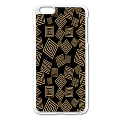 Magic Sleight Plaid Apple Iphone 6 Plus/6s Plus Enamel White Case