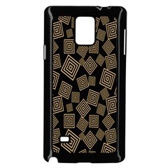 Magic Sleight Plaid Samsung Galaxy Note 4 Case (black) by Mariart