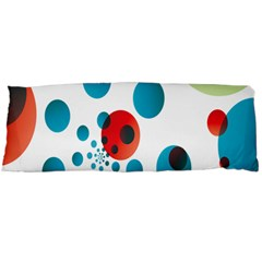 Polka Dot Circle Red Blue Green Body Pillow Case Dakimakura (two Sides) by Mariart