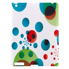 Polka Dot Circle Red Blue Green Apple Ipad 3/4 Hardshell Case by Mariart