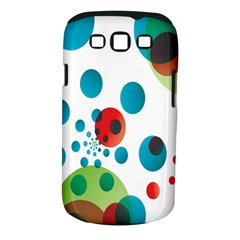 Polka Dot Circle Red Blue Green Samsung Galaxy S Iii Classic Hardshell Case (pc+silicone) by Mariart