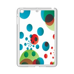 Polka Dot Circle Red Blue Green Ipad Mini 2 Enamel Coated Cases by Mariart