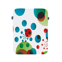 Polka Dot Circle Red Blue Green Apple Ipad 2/3/4 Protective Soft Cases by Mariart