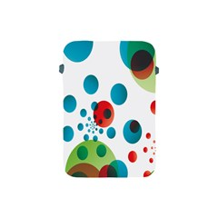 Polka Dot Circle Red Blue Green Apple Ipad Mini Protective Soft Cases by Mariart