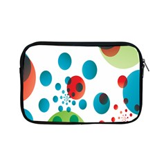 Polka Dot Circle Red Blue Green Apple Ipad Mini Zipper Cases by Mariart