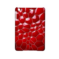 Plaid Iron Red Line Light Ipad Mini 2 Hardshell Cases by Mariart