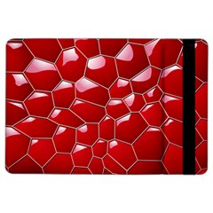 Plaid Iron Red Line Light Ipad Air 2 Flip by Mariart