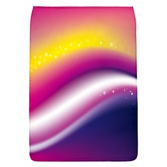 Rainbow Space Red Pink Purple Blue Yellow White Star Flap Covers (s)  by Mariart