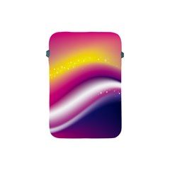 Rainbow Space Red Pink Purple Blue Yellow White Star Apple Ipad Mini Protective Soft Cases by Mariart