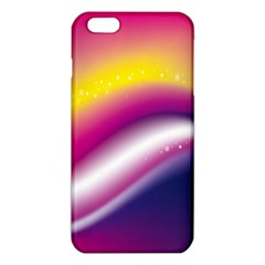 Rainbow Space Red Pink Purple Blue Yellow White Star Iphone 6 Plus/6s Plus Tpu Case by Mariart